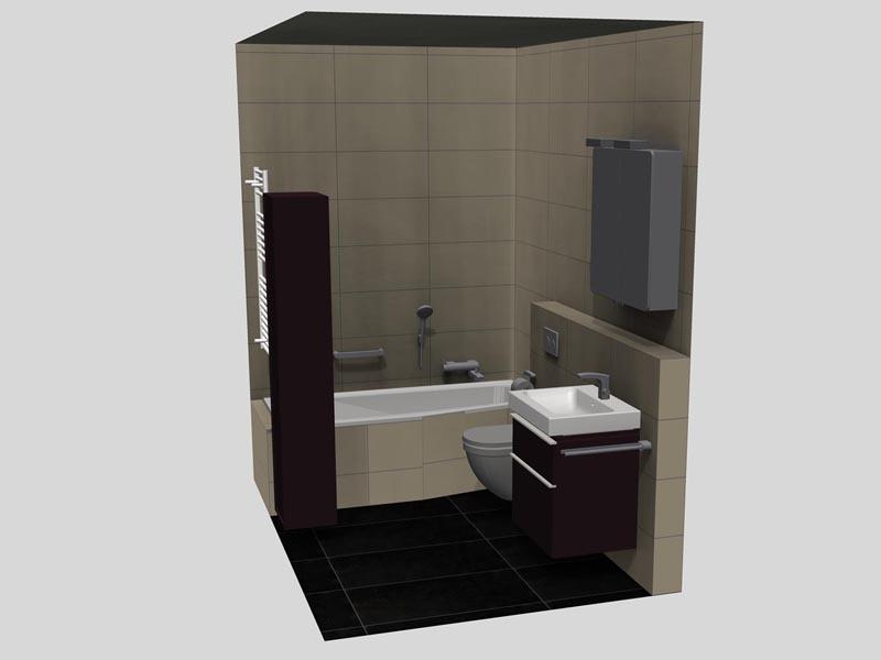 bad 3 ohne fenster. Black Bedroom Furniture Sets. Home Design Ideas